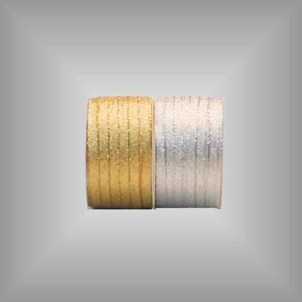 Textilband Brokat 5mm, 50 m / Rolle